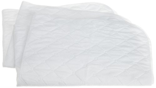 Carters 2 Pack Keep Me Dry Quilted Crib Pad,