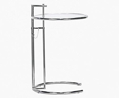 Hhenverstellbarer-Tisch-Chrom