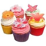 12 Stunning Edible Summer Flowers- Beautiful Edible Cake Decorations