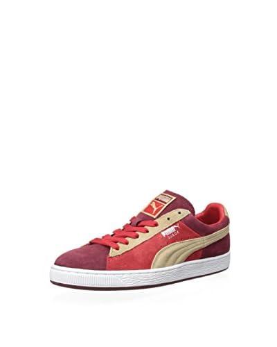 PUMA Men's Suede Stripes & Blocks Sneaker