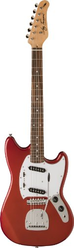 Jay Turser Jt-Mg-Car Solid-Body Electric Guitar, Candy Apple Red