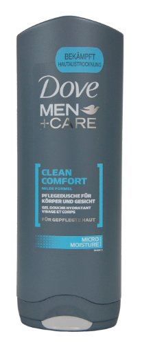 DOVE MEN+ CARE CLEAN COMFORT BODY & FACE WASH 250ML
