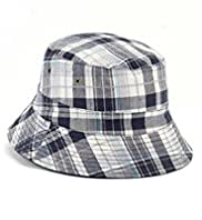 Pure Cotton Checked Pull On Hat