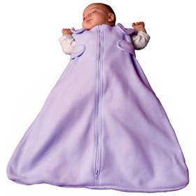 Baby's Store | Lavender Fleece Baby Sleep Sack Wearable Blanket, Adjustable Straps, One Size fits Baby 3-9 months-by Baby Emporio