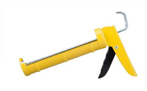 dripless-c100-consumer-grade-smooth-round-rod-cradle-frame-caulking-gun-10-oz-cartridge-capacity-51-