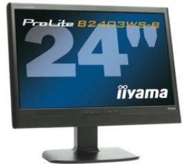 iiyama 24インチワイド液晶ディスプレイ HDMI装備 ブラック PLB2403WS-B1