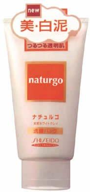 ナチュルゴ ホワイトクレイ洗顔パック 120g