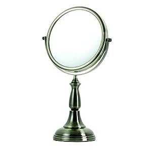 Danielle Enterprises 8X Magnification Vanity Mirror, Oil Brushed Bronze