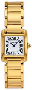 Cartier W50002N2 - Orologio da polso da donna, cinturino in oro colore oro