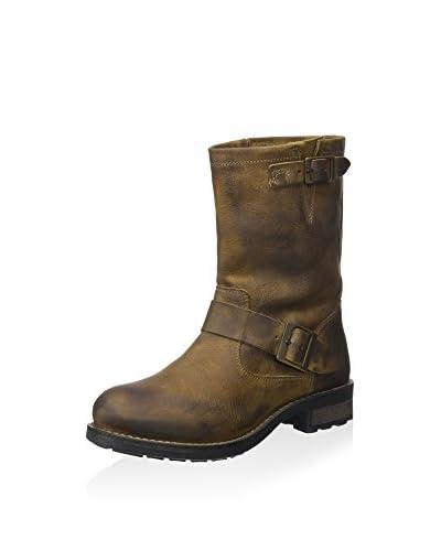 Buffalo London Biker Boot khaki