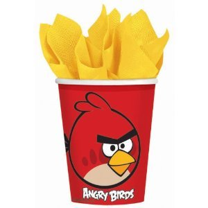 Angry Birds Party Cups from Shindigz