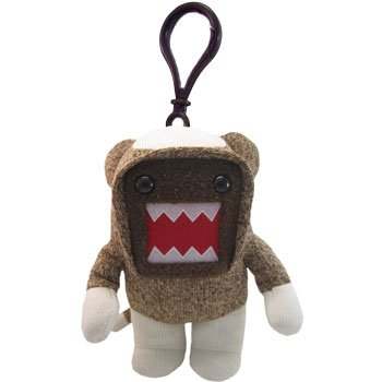 Licensed 2 Play Domo Sock Monkey Clip-On - 1