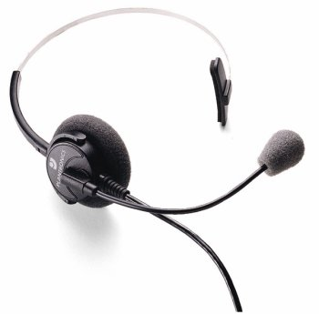 Plantronics Supra Monaural Polaris Headset With Noise Cancelling Microphone