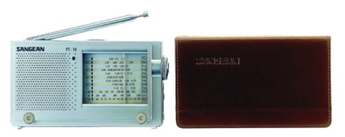 Sangean America, Inc. PT-10 AM/FM Stereo LW/SW Shortwave World Band Travel Radio