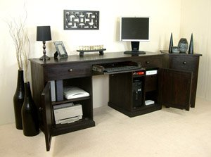 Kudos Hidden Office Twin Pedestal Computer Desk ?800Rp