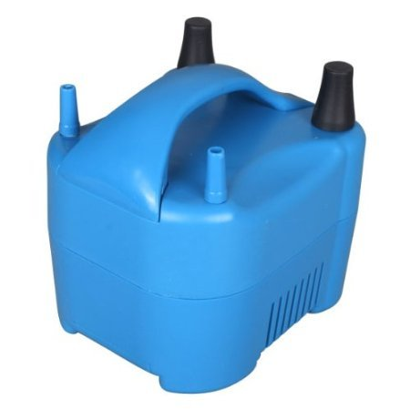 Riorand Air Blower Electric Balloon Inflator Pump Two Nozzle High Power Color Portable For Birthday Party Wedding