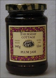 Thursday Cottage Jam Preserve Damson Plum 3/4 Lb (Pack of 2)