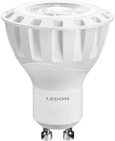 LEDON 6-W-GU10-LED-Lampe 38°, warmweiß