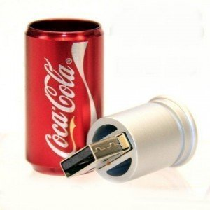 High Quality 8 GB Coca Cola Can Shape USB Flash Memory Drive
