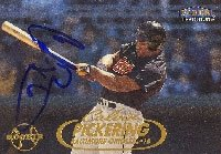 Calvin Pickering Baltimore Orioles 1998 Fleer Tradition Autographed Hand Signed... by Hall of Fame Memorabilia