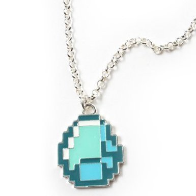 Minecraft Diamond Pendant by Minecraft Creeper