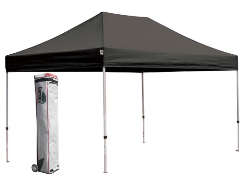 New Eurmax Pop up Commercial Outdoor Party Tent Gazebo Canopy W / Rolling Bag (Black, 10 x 15) picture