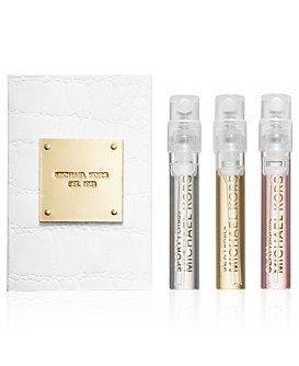 Michael Kors Collection Sampler, Sexy Amber, Sporty Citrus & Glam Jasmine EDPS .05 oz X 3 NEW!