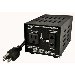 VCT VT-500J - Japanese Step Up/Down Voltage Transformer Converts Japan 100 Volts to 110V Or Vice Versa - 500 Watt купить