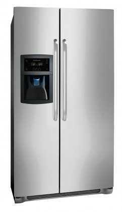 Frigidaire FFSC2323LS 22.6 Cu. Ft. Counter-Depth Side-by-Side Refrigerator - Stainless Steel