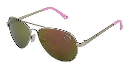 Womens-Contemporary-Hello-Kitty-Classic-Aviator-Sunglasses