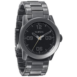 Nixon Private SS Watch - Men's All Gunmetal/Black, One Size