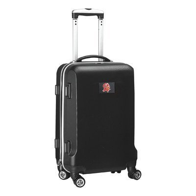 nfl-tampa-bay-buccaneers-hardcase-domestic-carry-on-spinner-bag-black-20-inch-by-denco