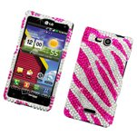 Eagle Cell PIBB9700G2D153 Stylish Hard Snap-On Protective Case for BlackBerry Bold 9700 - Retail Packaging - Pink Brown Black Check