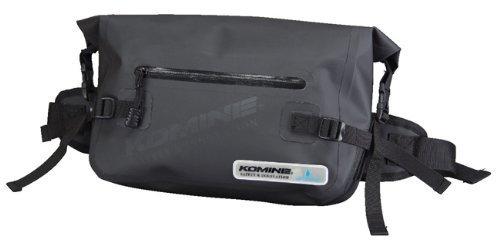 コミネ(Komine) バッグ SA-222 Waterproof(防水) ヒップバッグ ブラック フリー(5L) 09-222