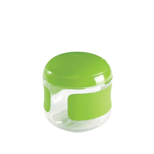 OXO Tot Flip-Top Snack Cup, Green, 5 Ounce