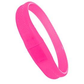 iTALKonline 2GB USB Wristband Flash Drive - Pink from iTALKonline