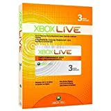 Microsoft Xbox Live 3 Month Gold Membership Card - Xbox line 3 month membership 3 months gold membership card