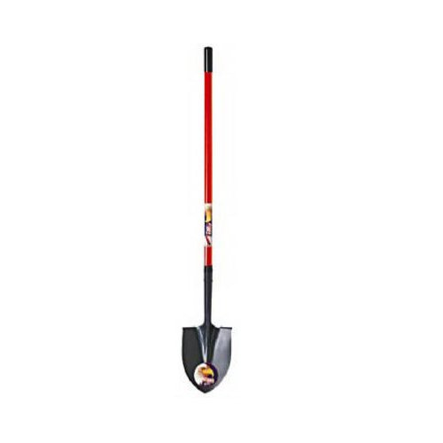 Ames True Temper 134840066 Green Thumb Fiberglass Long Handle Round Point Shovel