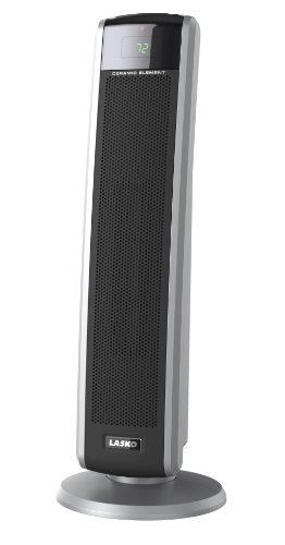 B0045LTBJG Lasko 5586 Digital Ceramic Tower Heater with Remote