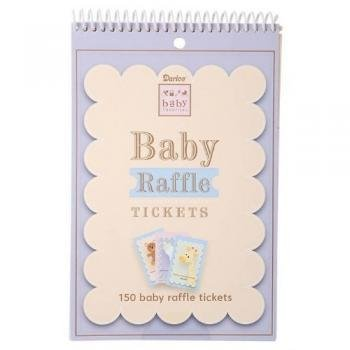 Baby Shower Game Pad - Raffle Tickets - 1