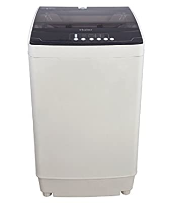 Haier HWM72-718N Fully-automatic Top-loading Washing Machine (7.2 Kg, Grey Plastic)