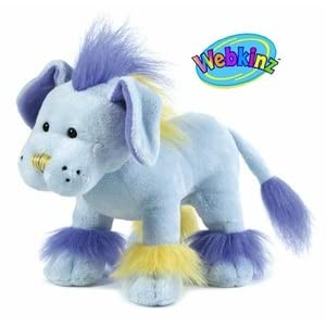 Webkinz Plush Stuffed Animal Mohawk Puppy