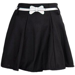 mini jupe robe taille haute elastique avec ceinture taille unique noir beaut et parfum. Black Bedroom Furniture Sets. Home Design Ideas