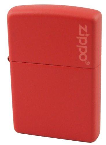 Zippo accendino, Red Matte with Zippo Logo, Red Opaco, NUOVO