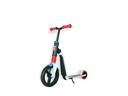 Scoot and Ride Highway Freak Scooter (White/Red/Blue)