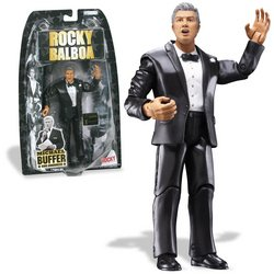 Buy Low Price Jakks Pacific Rocky V & VI Basic Figures: Michael Buffer Ring Announcer (B000V22BCC)