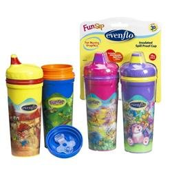 Evenflo FunSip Insulated Spillproof Cup - 1