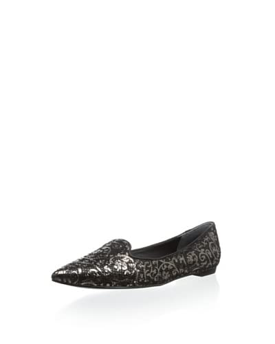 Belle by Sigerson Morrison Women's Sadie Brocade Flat