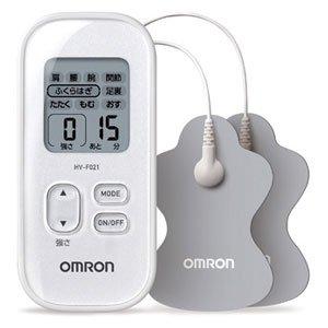 オムロン 低周波治療器 ホワイトOMRON HV-F021-WH