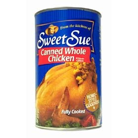 Sweet Sue Canned Whole Chiecken